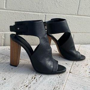 Black Addie Vince Heels